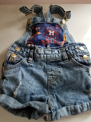 2T Astros Girl Overalls for Sale in Humble, TX