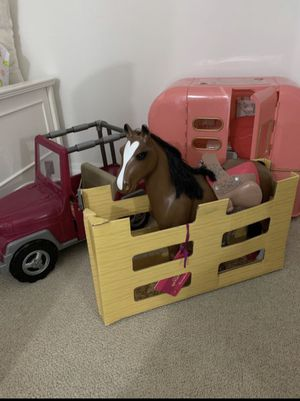 Toys Og brand Jeep, horse, and camper for Sale in Deerfield Beach, FL
