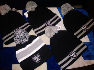 "Raider Beanies ""Brand New""NFL for Sale in Colton, CA"