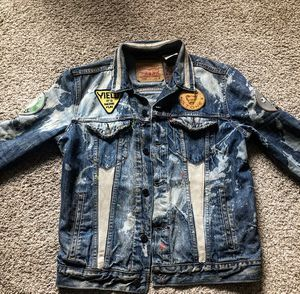 Custom Levi Denim Jacket(One Of One!)🌟 for Sale in Washington, DC