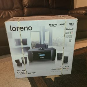 Loreno 5.1 4k Home Theater System for Sale in San Diego, CA