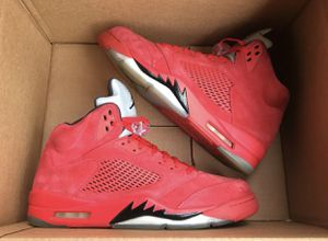 """Air Jordan 5 """" RED SUEDE """" for Sale in Temple Hills, MD"""