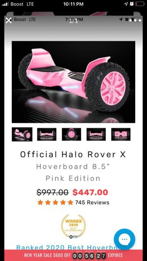 Bluetooth hoverboard pink for Sale in Commerce City, CO