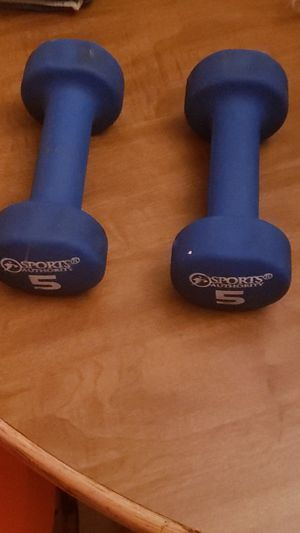 5 pound weights for exercise. for Sale in Wichita, KS