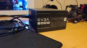 EVGA 600W 80+ Power supply for Sale in Costa Mesa, CA