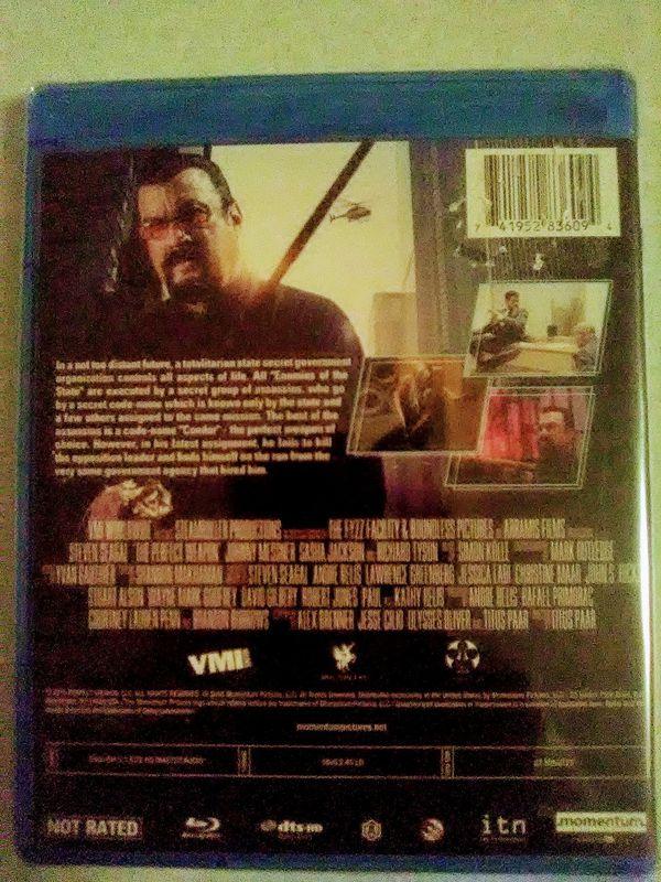 The Perfect Weapon Blu-ray