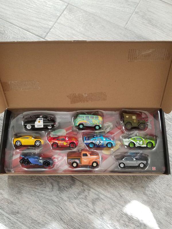 Disney die cast vehicles