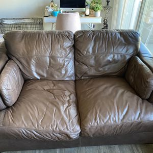 Genuine Leather Couches for Sale in Syracuse, UT
