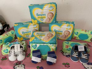 Pampers diapers size 1 for Sale in Parkland, WA