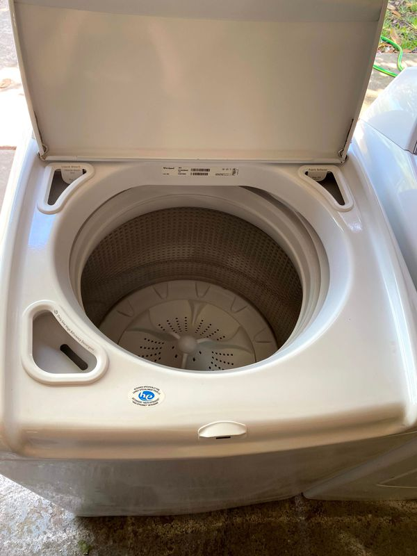 WHIRLPOOL CABRIO HE XL WASHER AND DRYER PAIR ✅✅ DELIVERED & INSTALLED