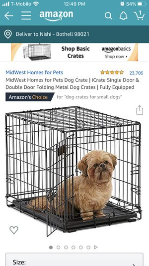 """24"""" dog crate for Sale in Bothell, WA"""