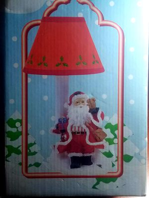 Christmas rare vintage santa lamp for Sale in Norwalk, CA