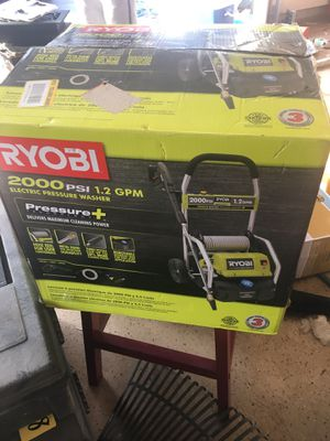 Brand new! RYOBI pressure washer for Sale in Laytonsville, MD