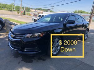 2015 Chevy Impala $ 2000 Down Payment for Sale in Nashville, TN