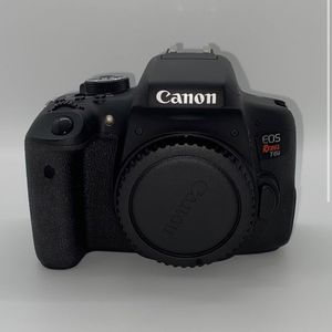 Bundle Canon Rebel T6i, Canon 55-250mm lens, Canon EFS 18-55mm lens for Sale in Downey, CA
