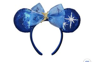 Disney Minnie Mouse Disney The Main Attraction Ear Headband Peter Pan's Flight for Sale in San Marcos, TX