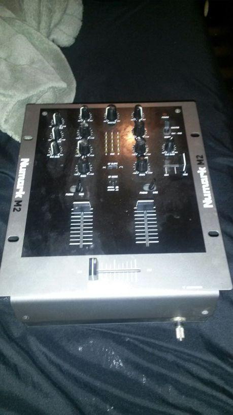 """10"""" Professional dj mixer and equipment"""