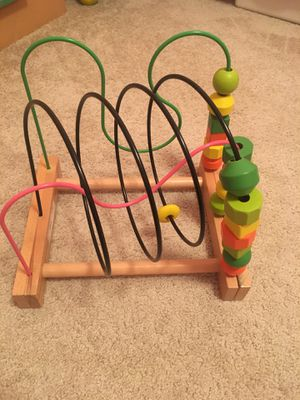 Wooden abacus from Ikea for Sale in Norfolk, VA
