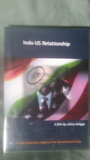 DVD Indo-US Relationship DVD for Sale in Houston, TX