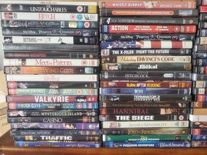 80+ dvds in good condition, some new for Sale in Kissimmee, FL