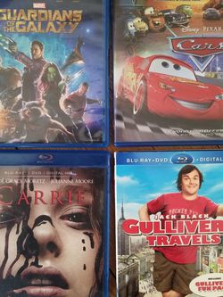 Lot Of (4) New Blu-Ray DVD Movies for Sale in Stratford,  CT