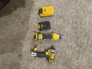 DeWalt tools with charger and 2 batteries $50 for Sale in Kent, WA