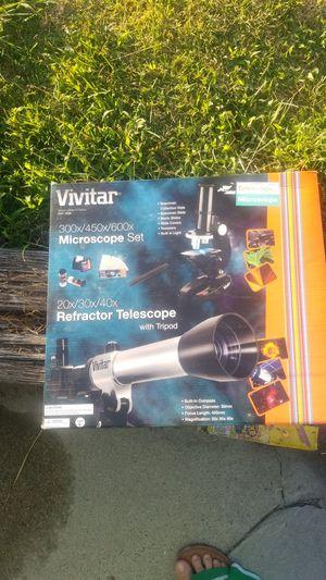 Vivitar microscope telescope set for Sale in Ontario, CA