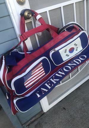 Taekwondo duffle bag for Sale in Los Angeles, CA
