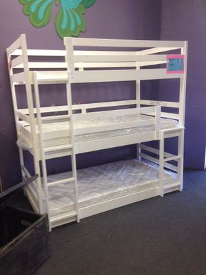 Triple bunk bed color choice for Sale in Chandler, AZ