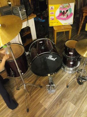 8 pieces Drum set 3 plates for Sale in West Valley City, UT