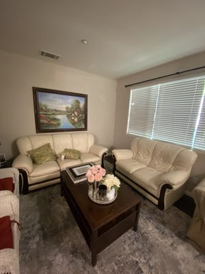 2x Couch and a table $150 for Sale in Burlingame, CA