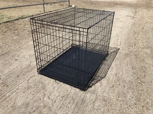 One Door Folding Dog Crate w/ Slide Out Bottom for Sale in Indio, CA