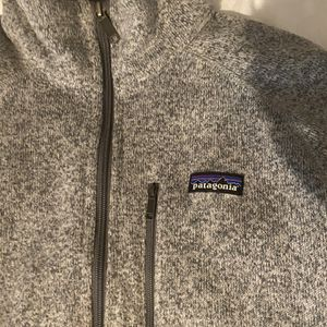 Grey Unisex Patagonia Fleece (M) for Sale in Cumming, GA