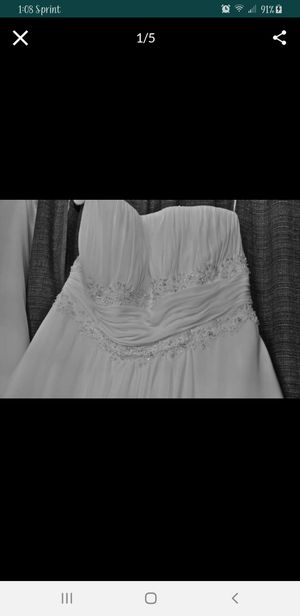 Size 18W David's Bridal Wedding dress for Sale in Cleveland, TX