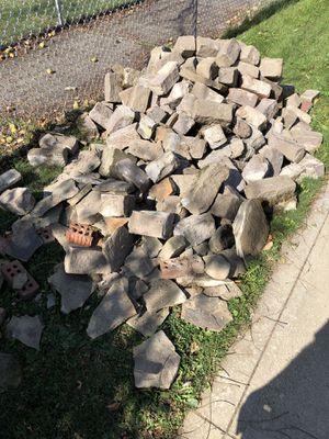 Quartz slate brick rocks for Sale in Strongsville, OH