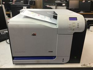 HP color laser cp3525 needs toner for Sale in Central Islip, NY