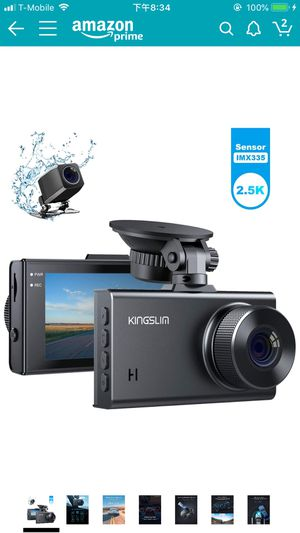 2.5K Dual Dash Cam, 1440P&1080P Front and Rear Camera for Cars 170 Degree Driving Recorder with Sony Starvis Sensor Night Vision G-Sensor Parking Mo for Sale in Oldsmar, FL