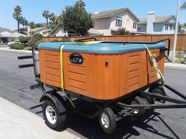 SPA MOVER - HOT TUB MOVES