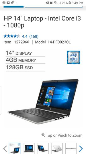 "HP 14"" Laptop - Intel Core i3 - 1080p for Sale in West Springfield, VA"