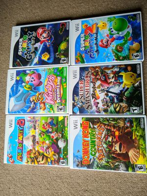 Wii games for Sale in Seattle, WA