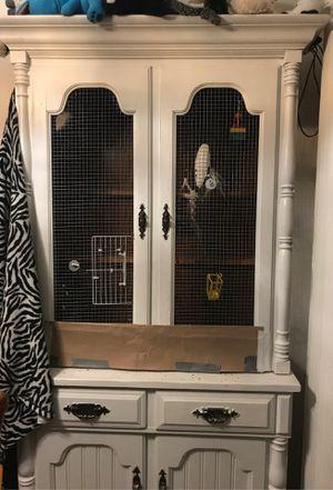 DIY BIRD CAGE HUTCH for Sale in Puyallup, WA