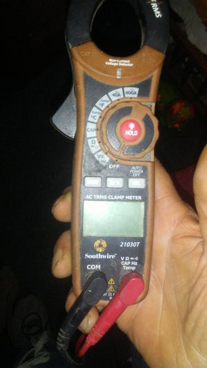 AC trms clamp meter made by southwire #21030T for Sale in Dixon, MO