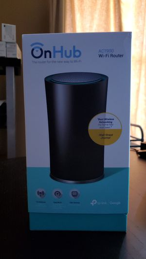 Google OnHub WiFi router. Compatible with Google WiFi and Nest WiFi for Sale in Suwanee, GA