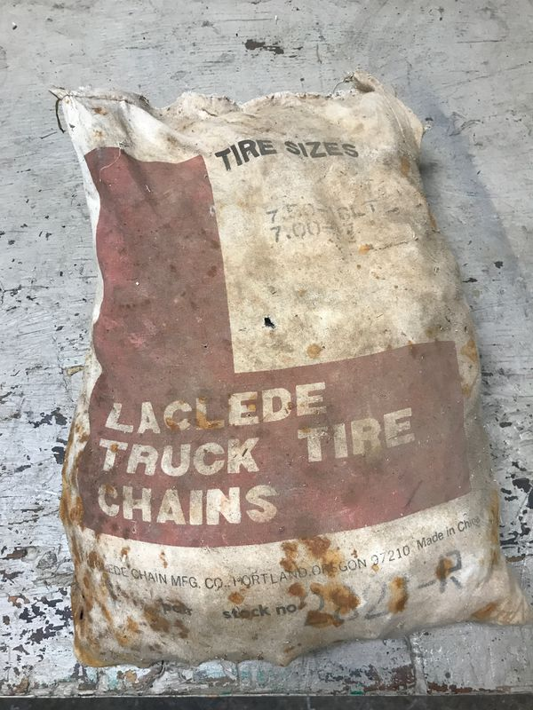 Brand new heavy duty truck tire chains