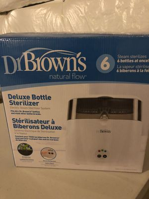 Dr. Brown's Deluxe Bottle Sterilizer for Sale in Orland Park, IL