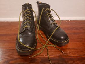 Black Vintage Dr. Martens 101 6-eye boot Made in England US Women's 6.5 for Sale in Atlanta, GA