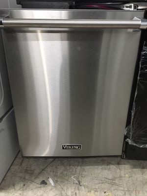 Viking stainless steel dishwasher with 3 racks for Sale in Mission Viejo, CA