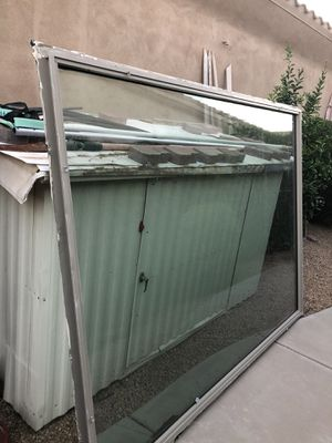 Double panel window excellent condition 96x72 best offer for Sale in Chandler, AZ