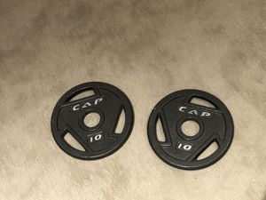 10-lb Olympic Weight Plates for Sale in Arlington, VA