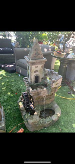 Castle fountain for Sale in Garden Grove, CA